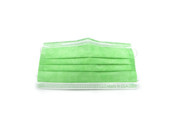 Green Disposable Face Mask