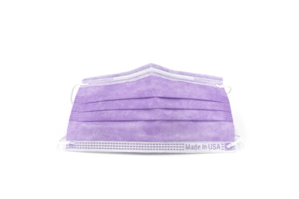 Purple Disposable Face Mask