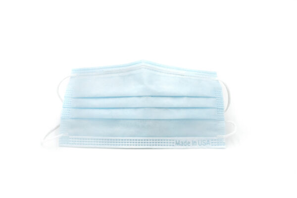 Light Blue Disposable Face Mask